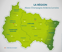 La structure région, départements, clubs